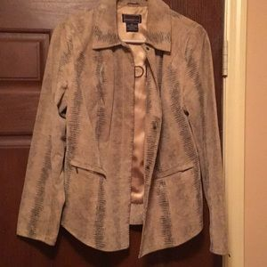 Bradley Bayou 100% genuine leather jacket M